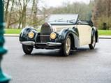 1939 Bugatti Type 57 Cabriolet by Gangloff - $