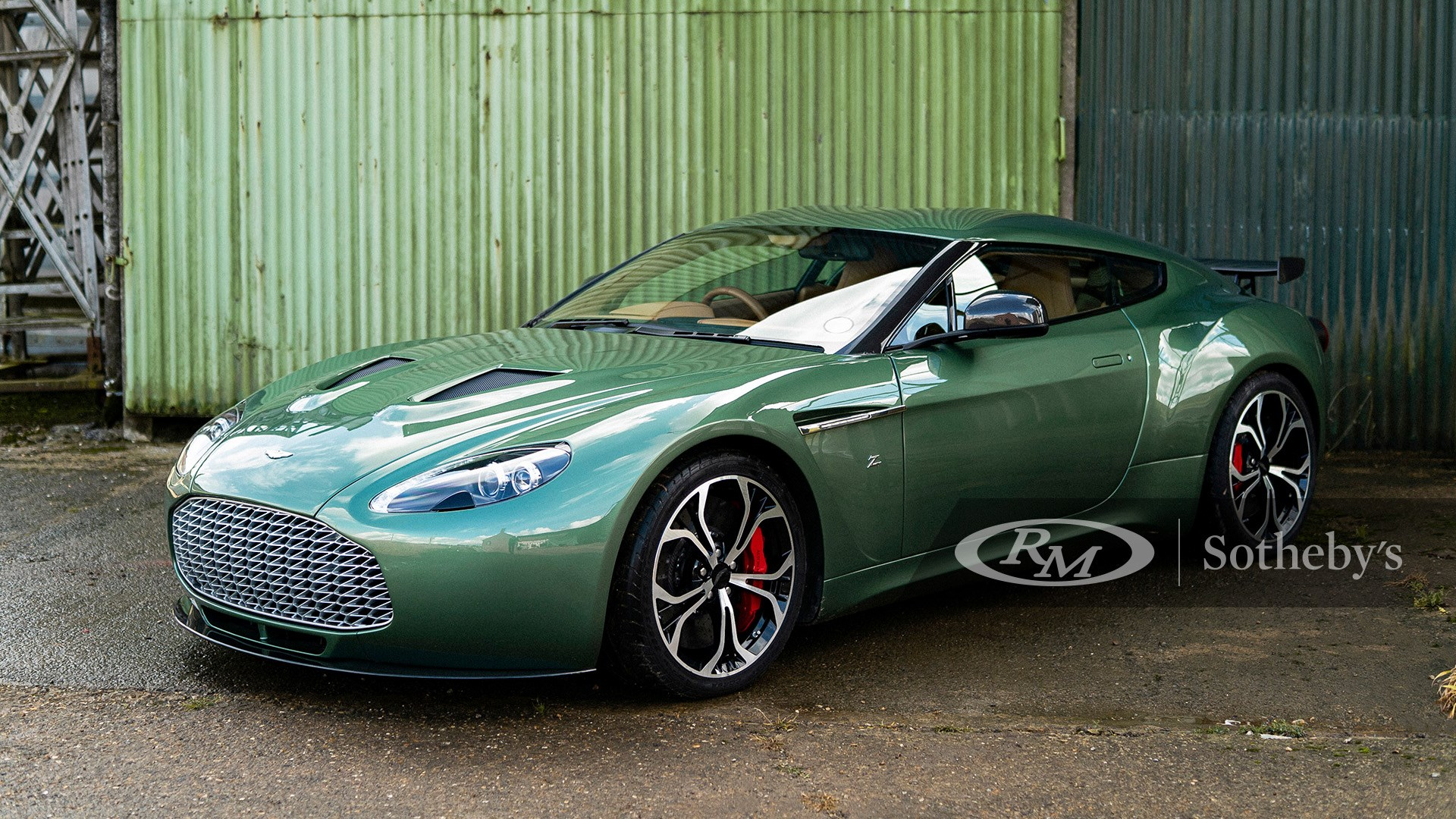 RM Sotheby's London 2020, Blog, 2012 Aston Martin V12 Zagato Prototype
