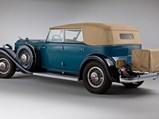 1932 Packard Twin Six Individual Custom Convertible Sedan by Dietrich, Inc. - $