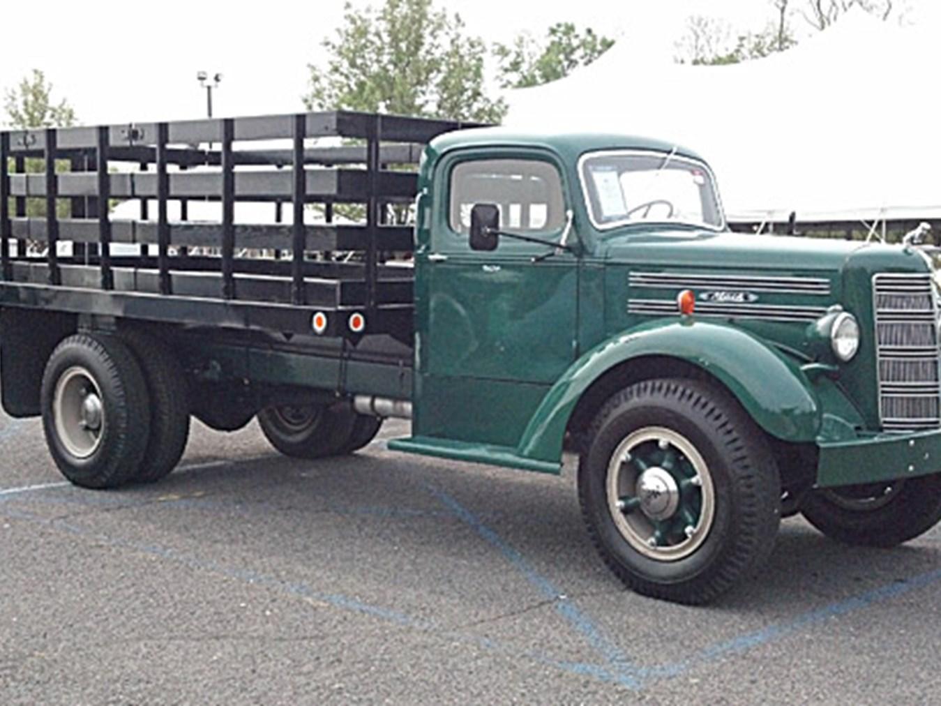 1950 To 1965 Mack Trucks : Rm sotheby s mack truck stake body spring