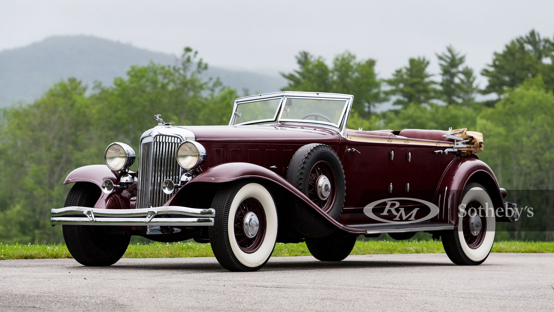 1932 Chrysler CL Imperial Dual-Windshield Phaeton by LeBaron available at RM Sotheby's Amelia Island Live Auction 2021