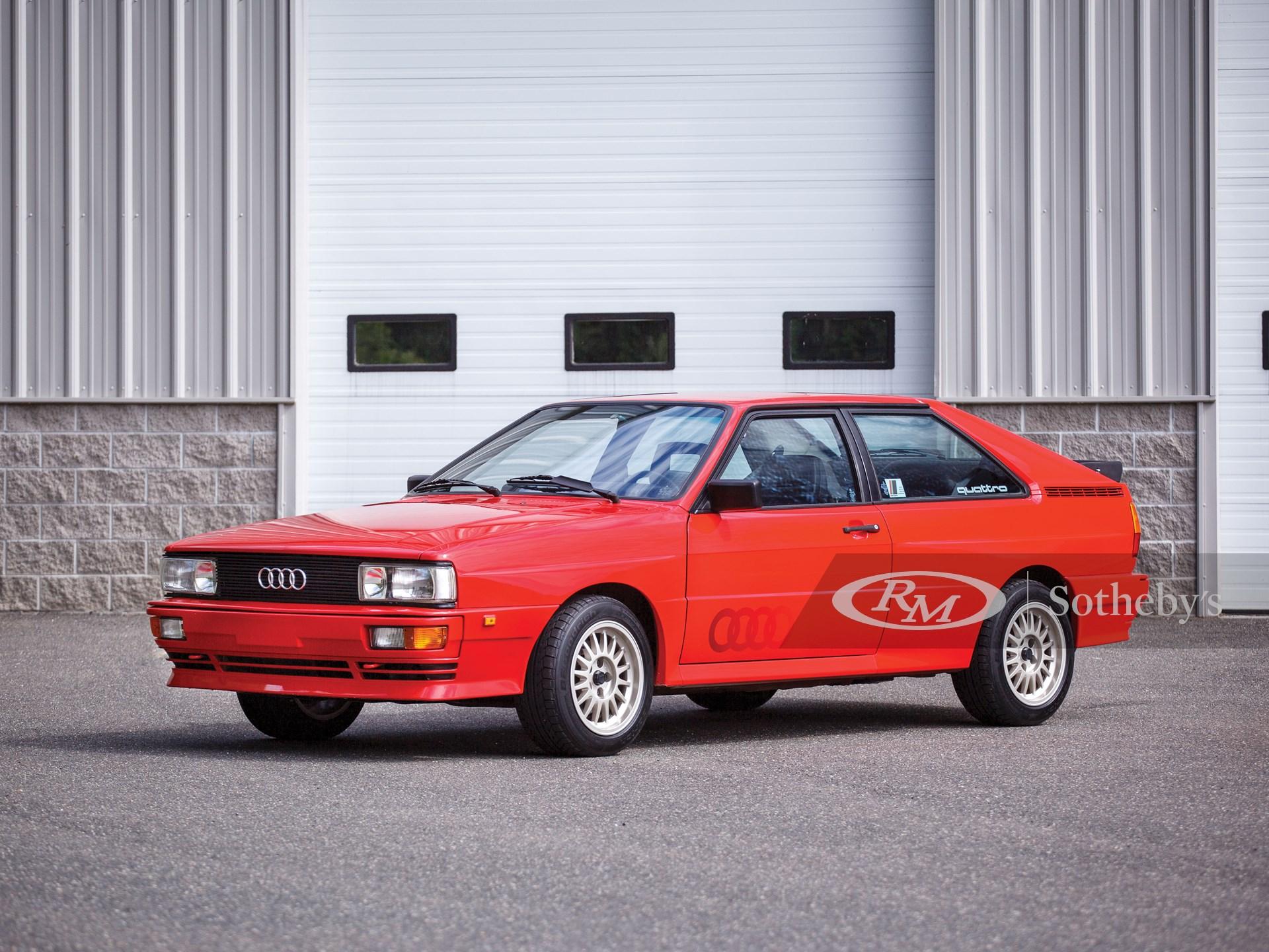 1983 Audi Ur-Quattro  -