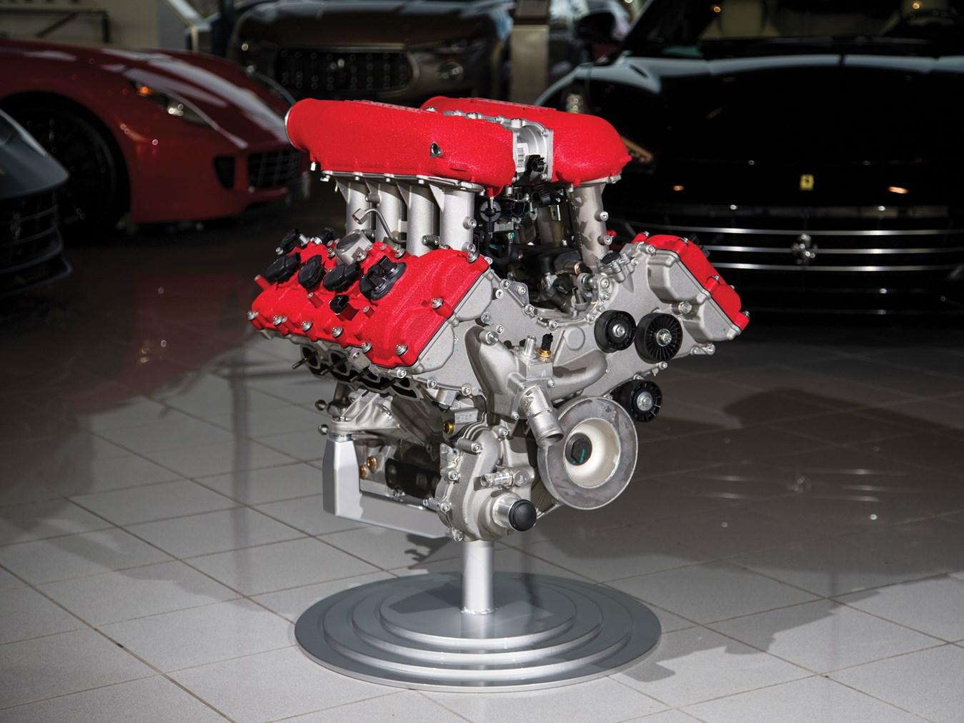 Ferrari 458 Italia Engine with Stand
