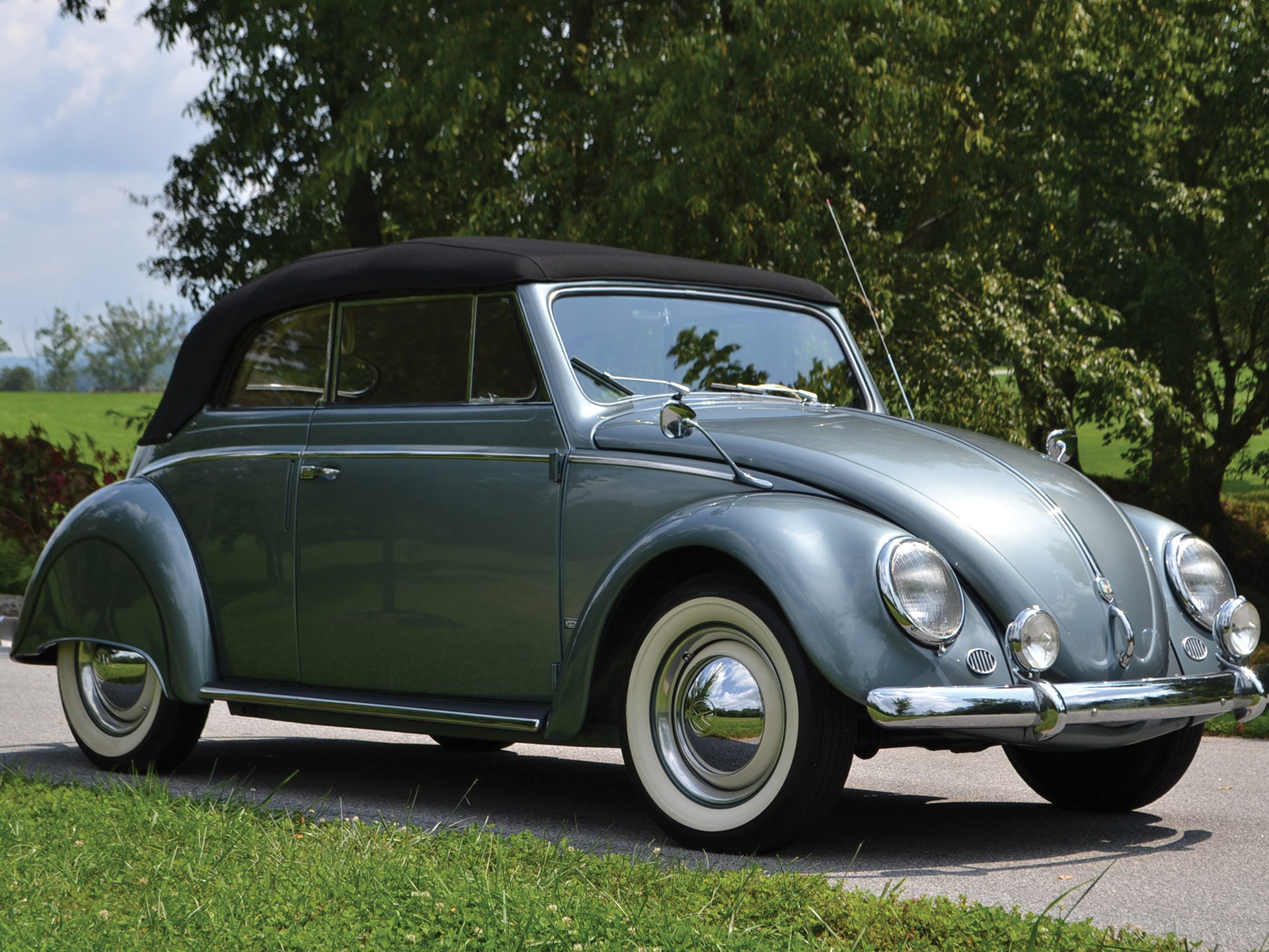 RM Sotheby's - 1955 Volkswagen Beetle Cabriolet by Karmann | Amelia
