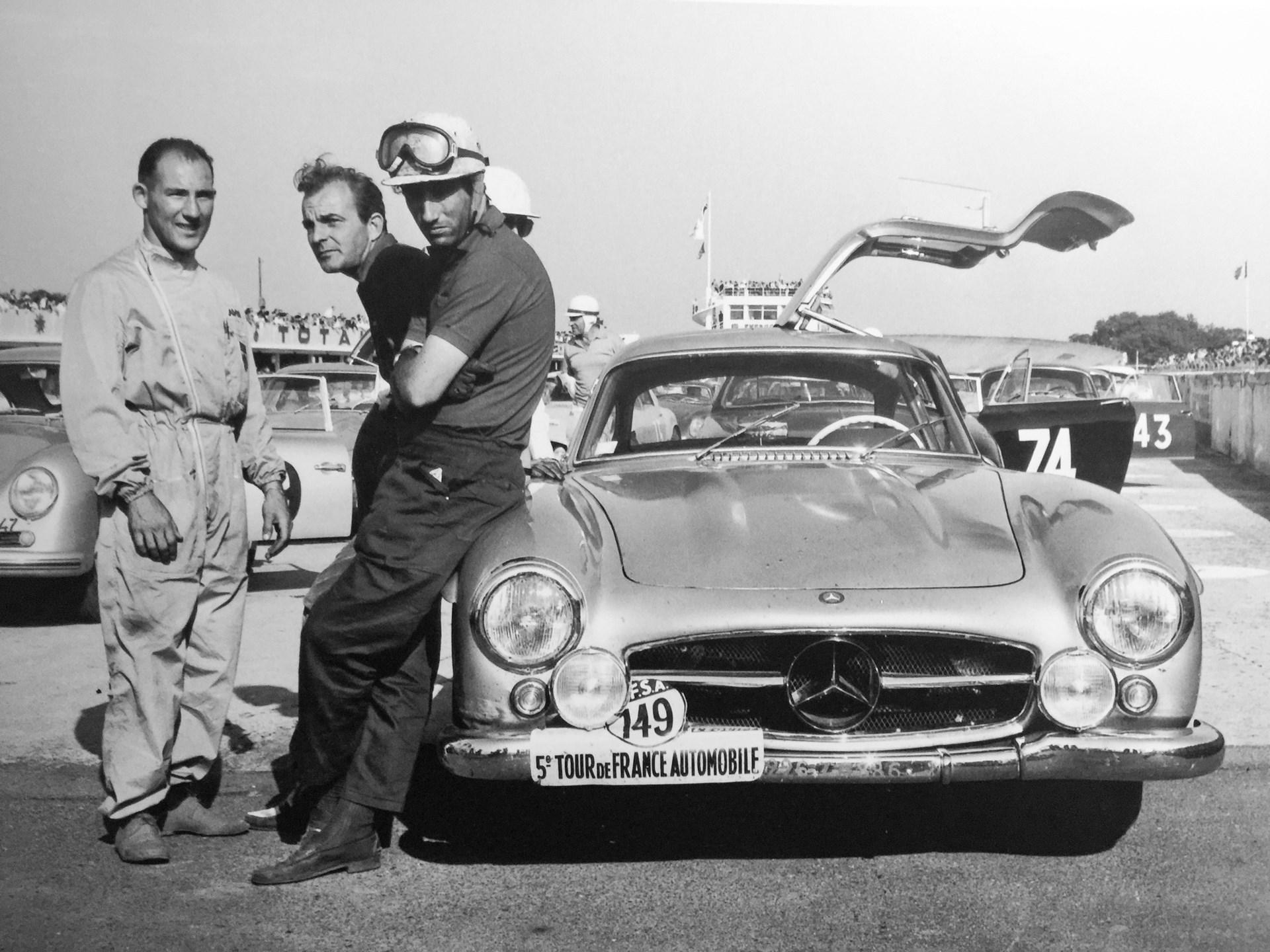 1955 Mercedes-Benz 300 SL 'Sportabteilung' Gullwing