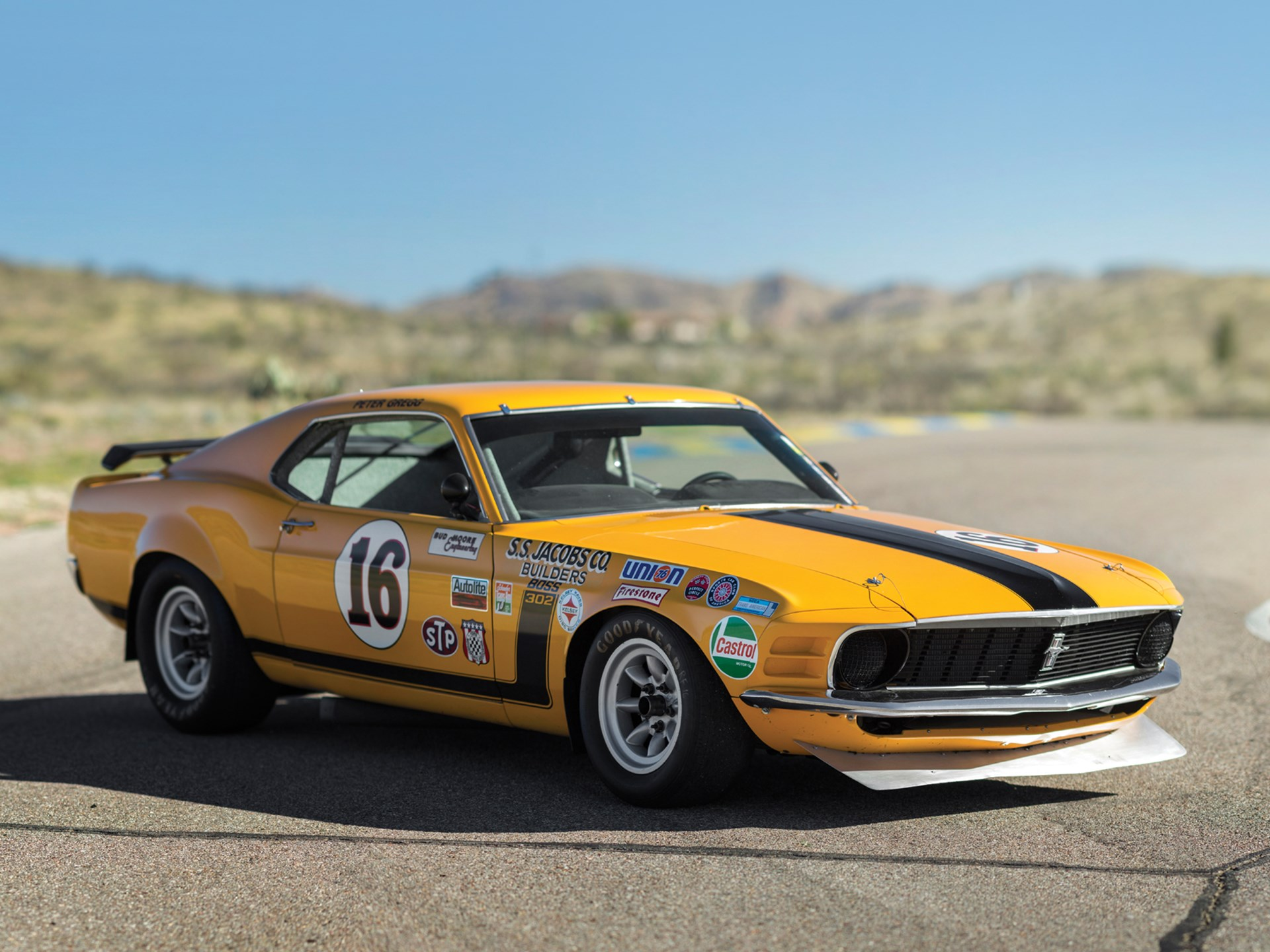 1970 ford mustang boss 302 kar kraft trans am