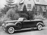 1939 Chrysler Custom Imperial Parade Phaeton by Derham - $Derham factory photo showcasing their unique Custom Imperial Parade Phaeton coachwork.