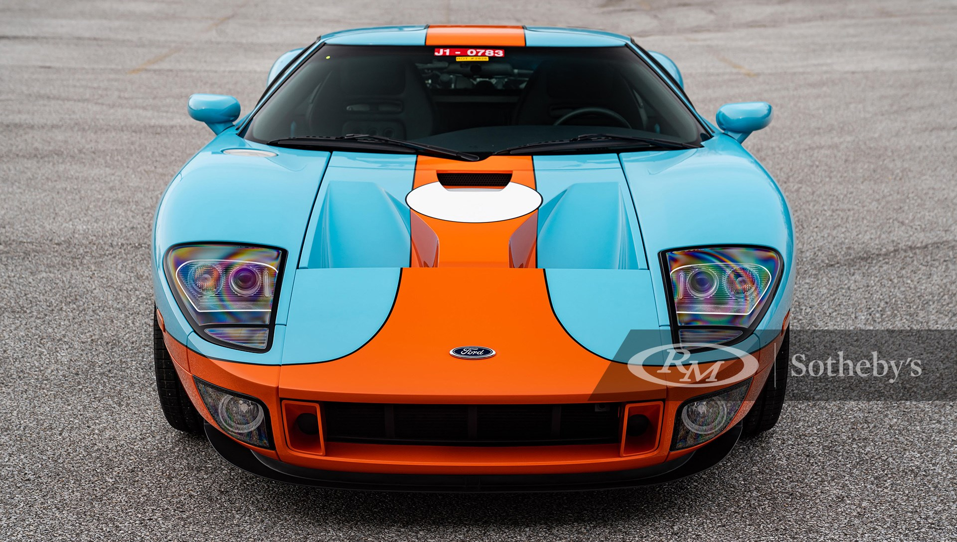 Heritage Paint Livery 2006 Ford GT Heritage available at RM Sotheby's Amelia Island Live Auction 2021