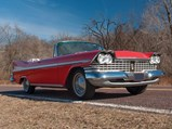 1959 Plymouth Sport Fury Convertible  - $