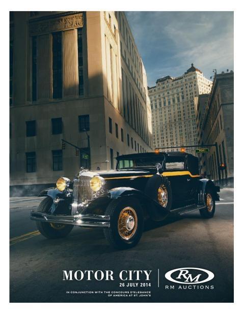The Motor City, 2014