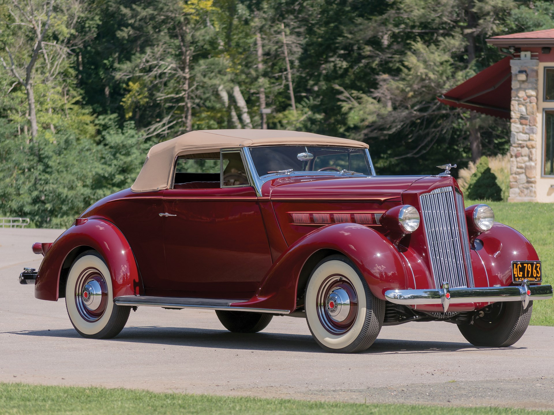 RM Sotheby's - 1937 Packard Six Convertible Coupe | Hershey 2015