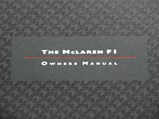 McLaren F1 Owners Manual and Service Record & Warranty Book - $SONY DSC