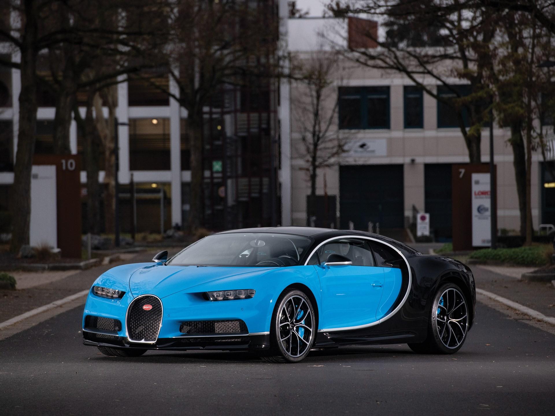 RM Sotheby's - 2018 Bugatti Chiron | Paris 2019