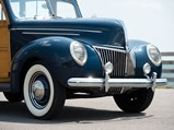1939 Ford V-8 DeLuxe Station Wagon  - $