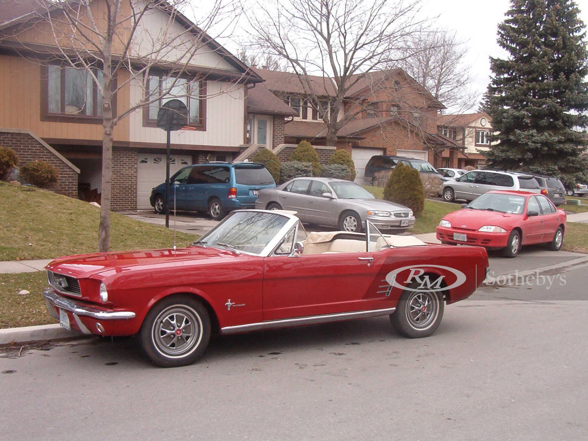 1966 Ford Mustang Convertible  -