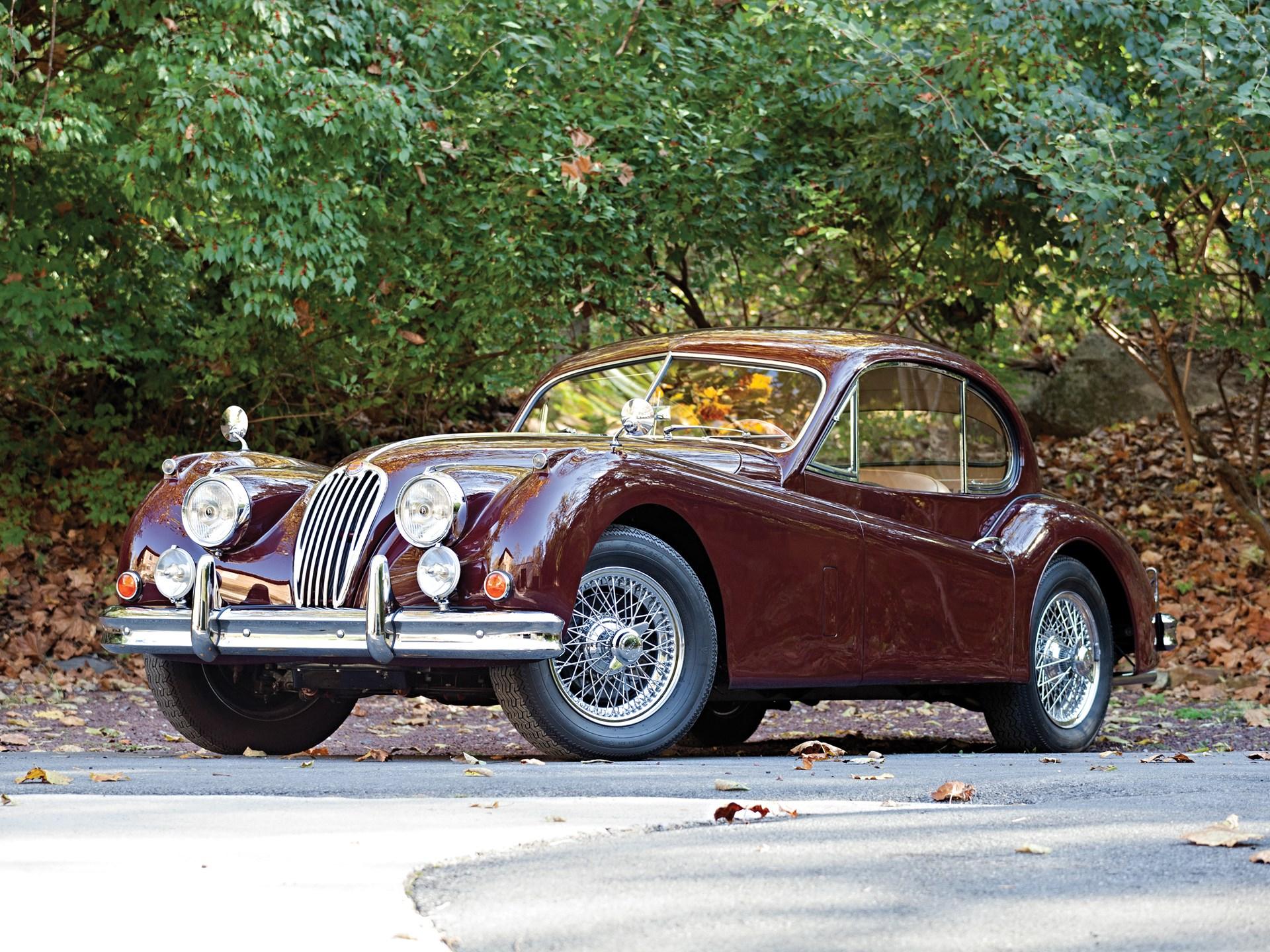 RM Sotheby's - 1955 Jaguar XK140 MC Fixed Head Coupe ...