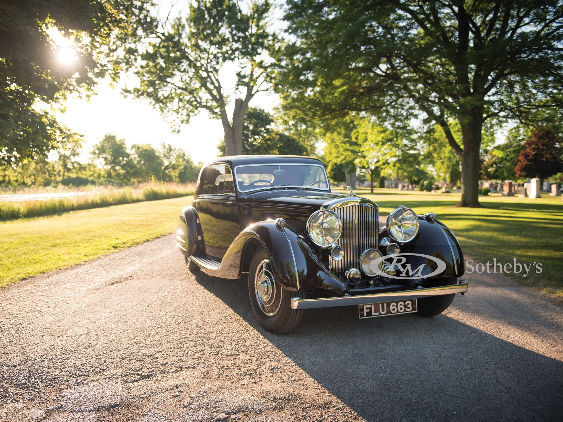 "1939 Bentley 4¼-Litre Sports Coupe ""Honeymoon Express"" by Park Ward"