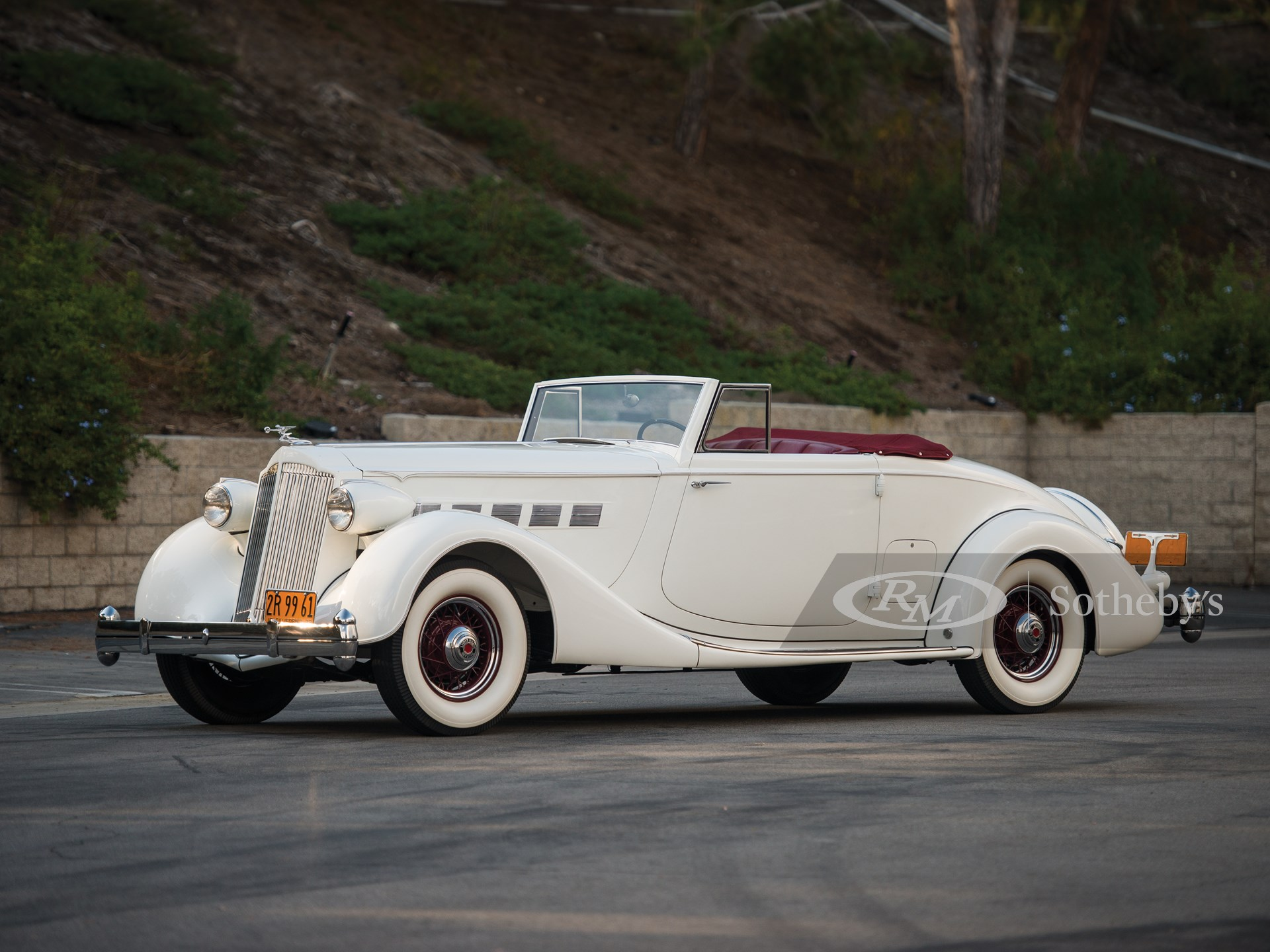 1936 Packard Super Eight Coupe Roadster