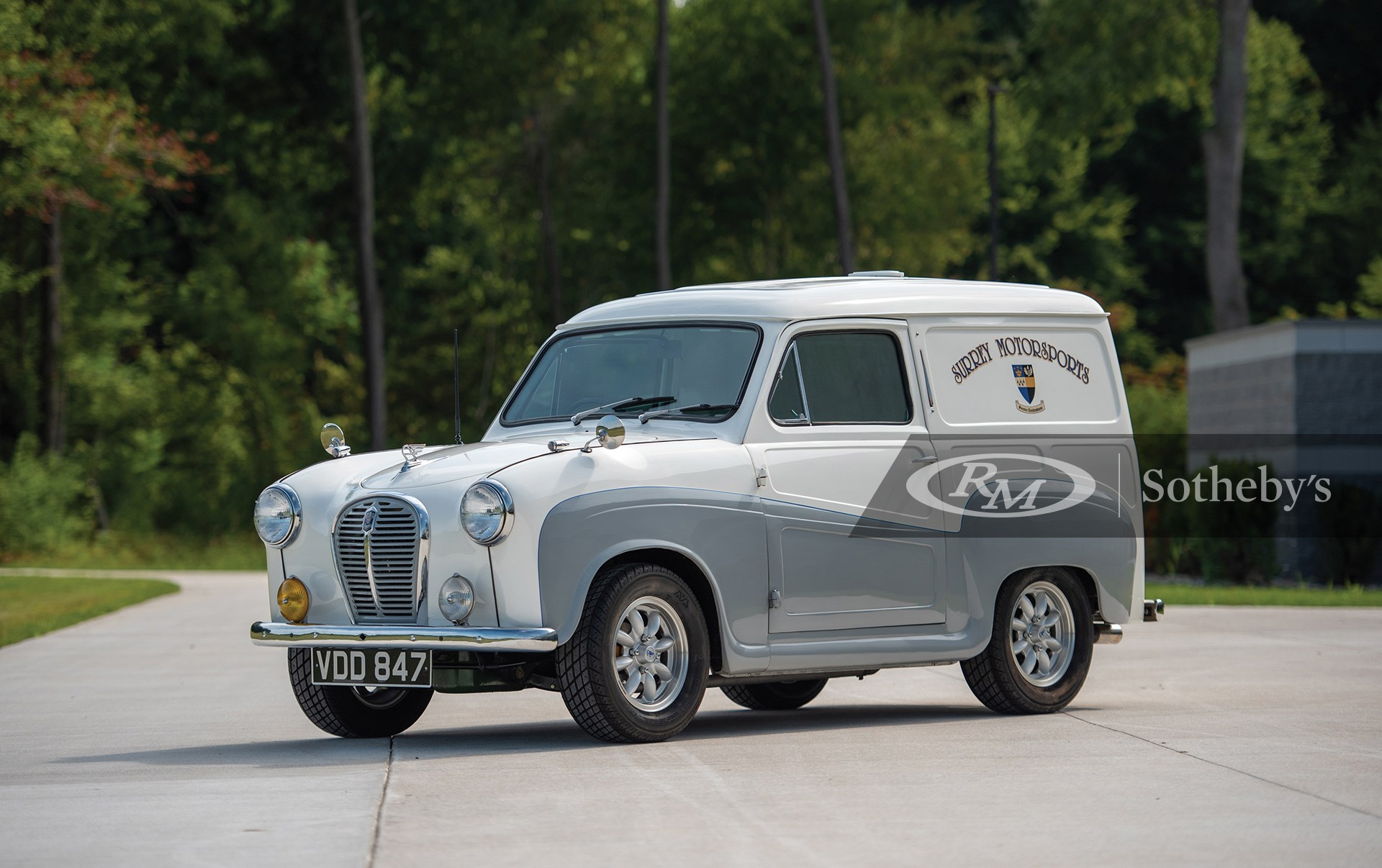 RM Sotheby's The Elkhart Collection 2020, Blog, 1958 Austin A35 Surry Motorsports Van