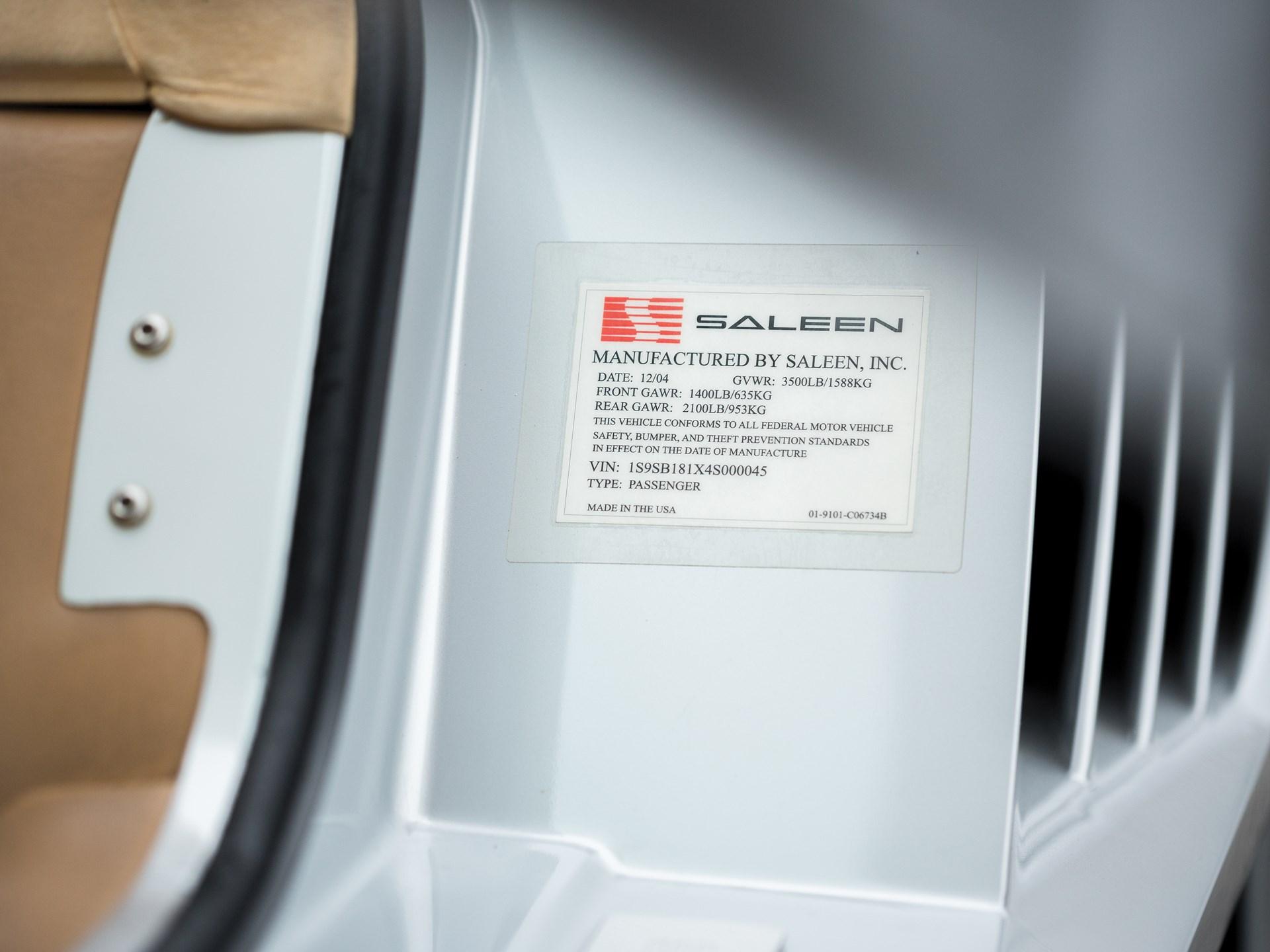 2004 Saleen S7