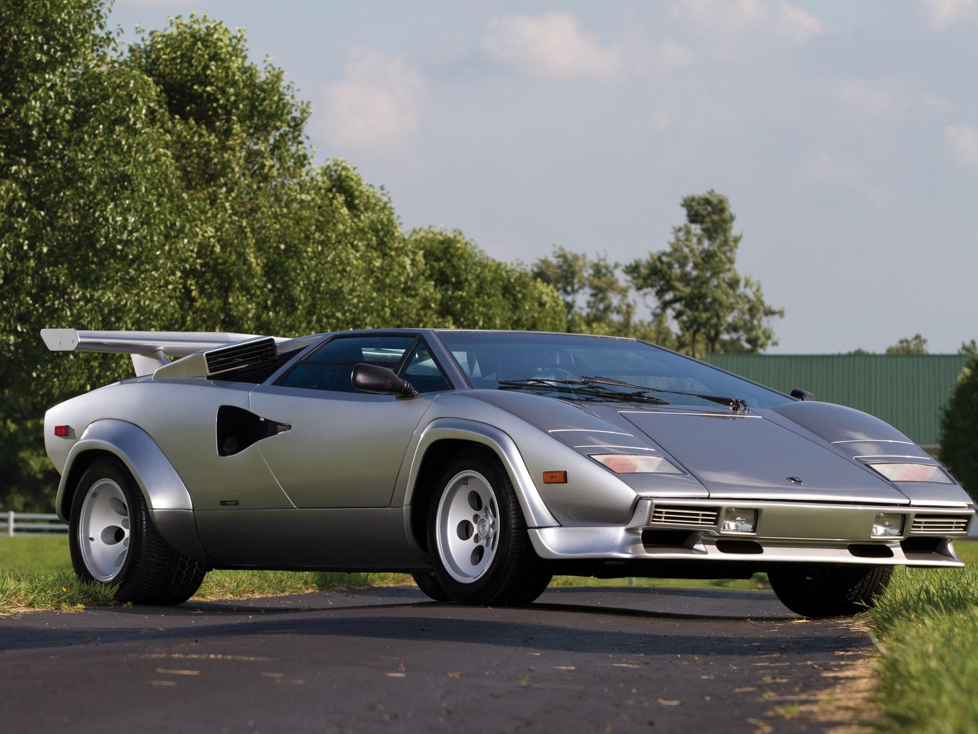 Rm Sotheby S 1982 Lamborghini Countach 5000s Monterey 2013