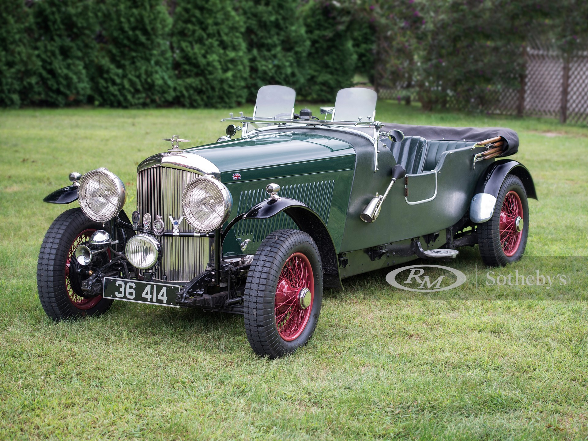 1936 Bentley 4¼-Litre Four-Seater Tourer by James E. Pearce