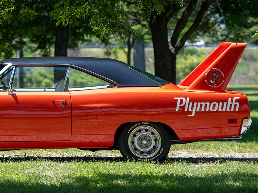 1970 Plymouth Superbird Offered at RM Auctions Auburn Fall Live Auction 2021
