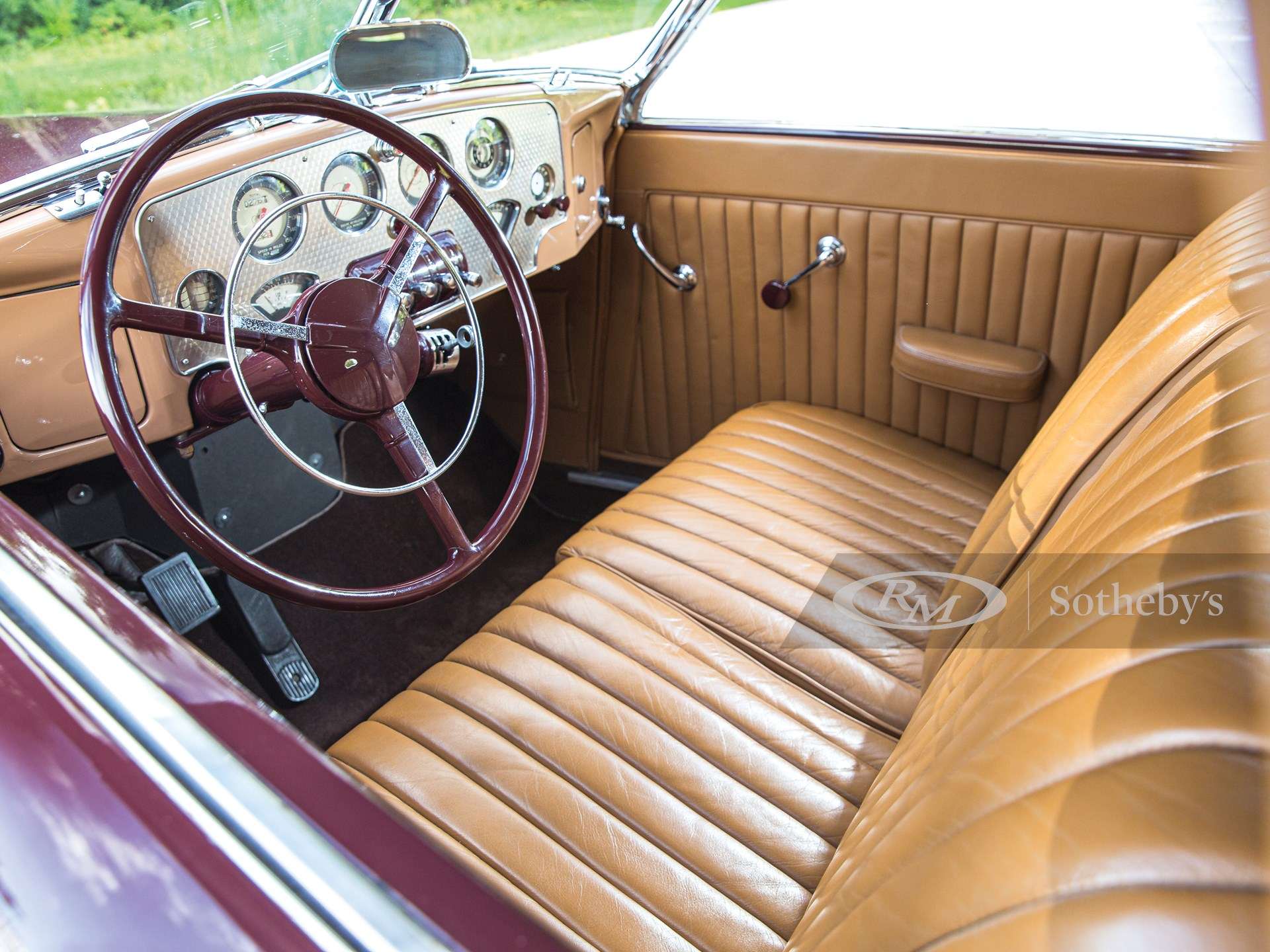 1937 Cord 812 Supercharged Cabriolet  -