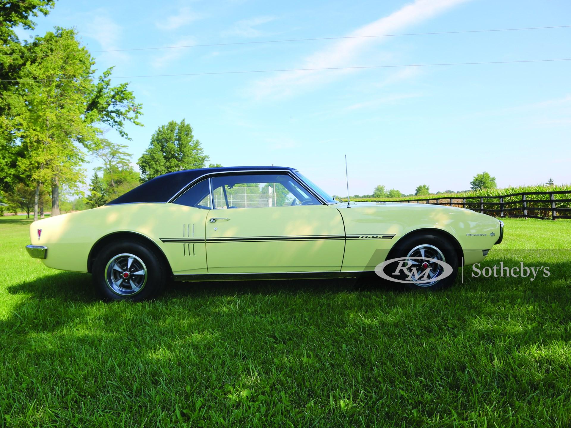 1968 Pontiac Trans Am Firebird H.O.