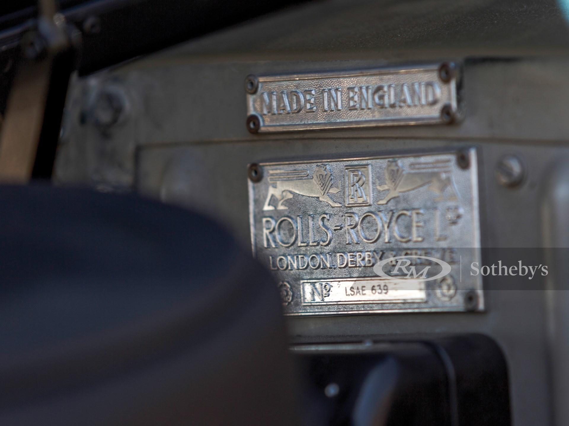 Molle Auto Su Misura.1962 Rolls Royce Silver Cloud Ii Drophead Coupe Adaptation By H J