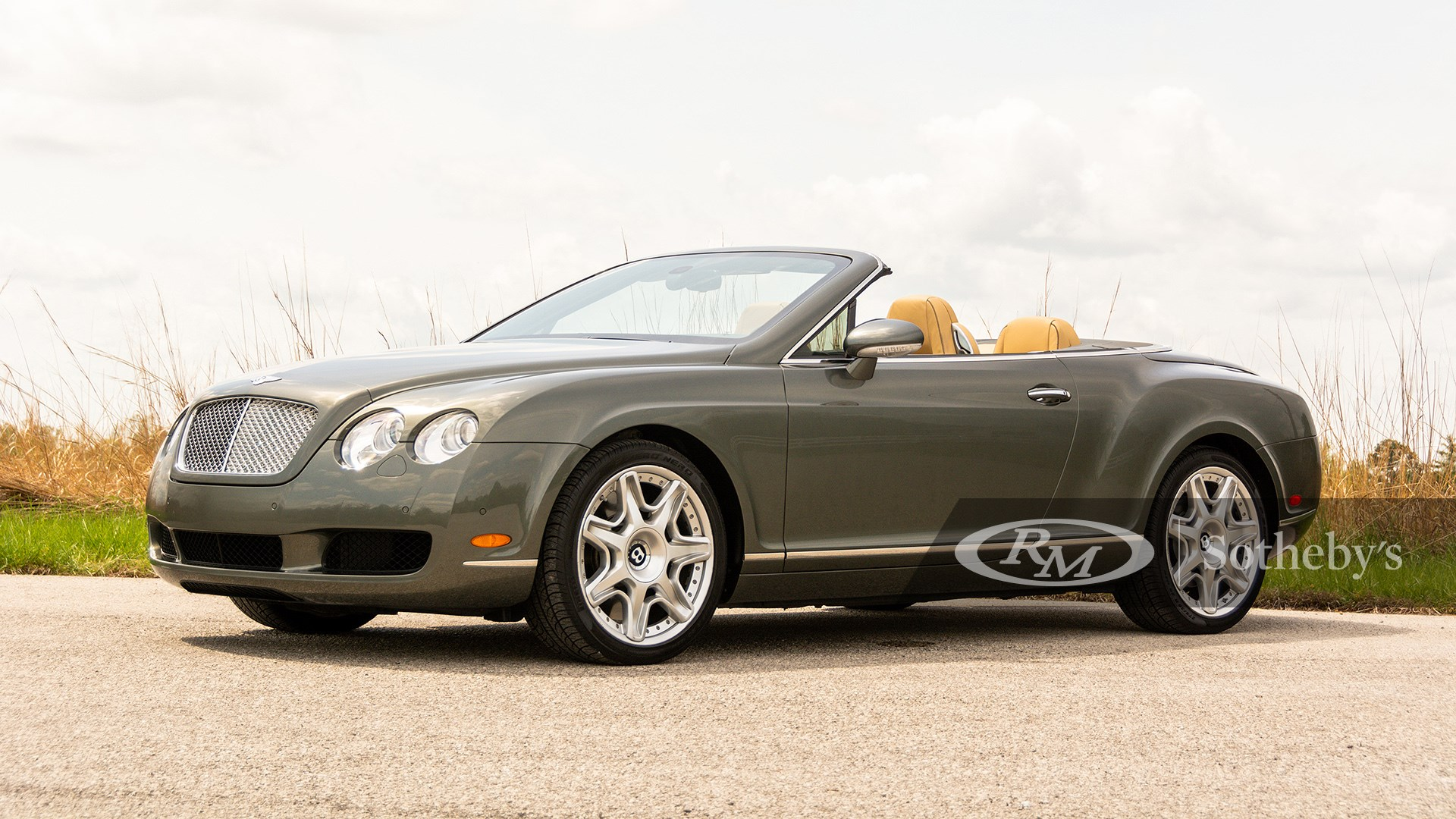 Driving Into Summer, 2009 Bentley Continental GTC
