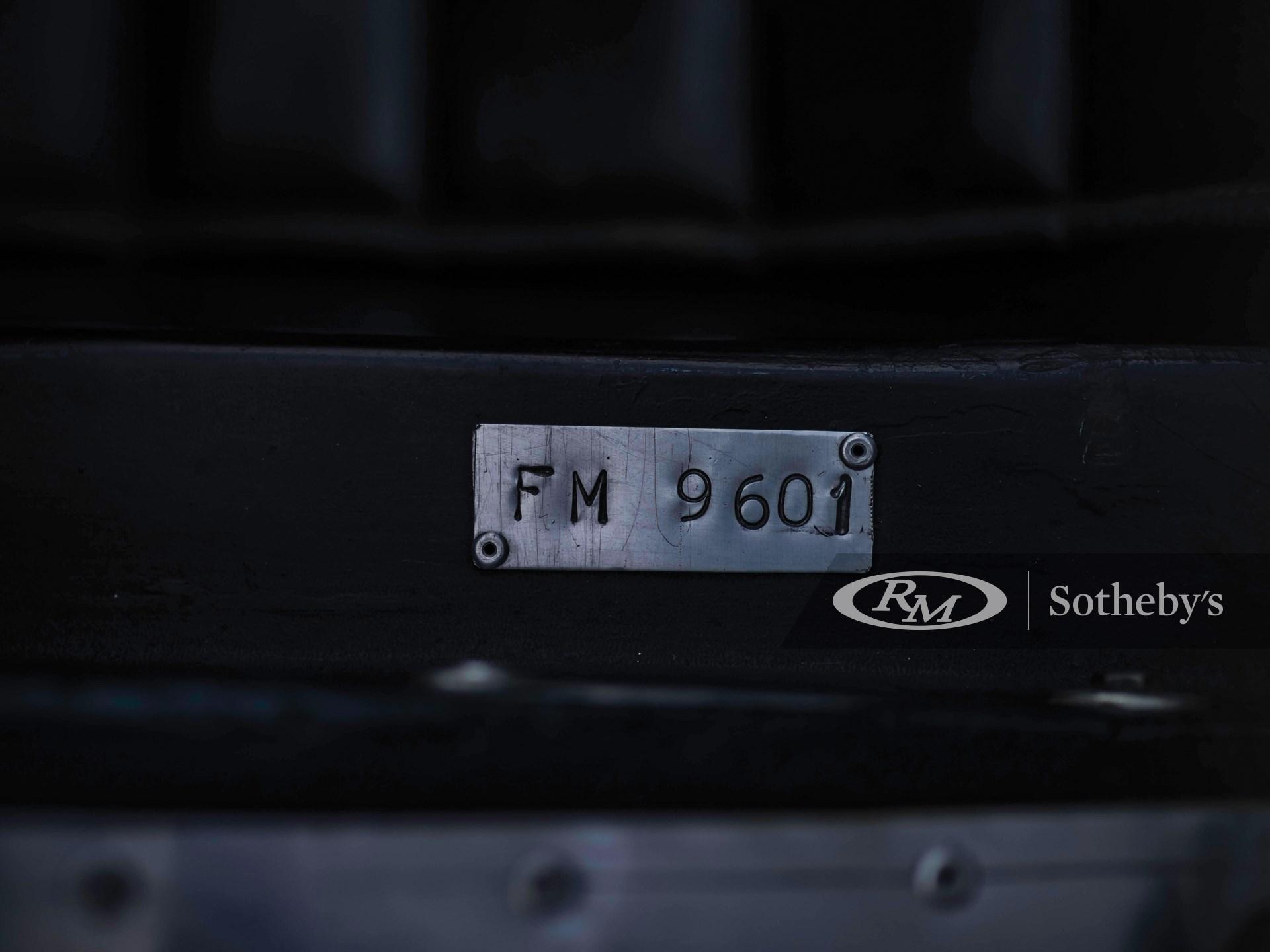 1964 Fournier-Marcadier Barquette FM 01  -