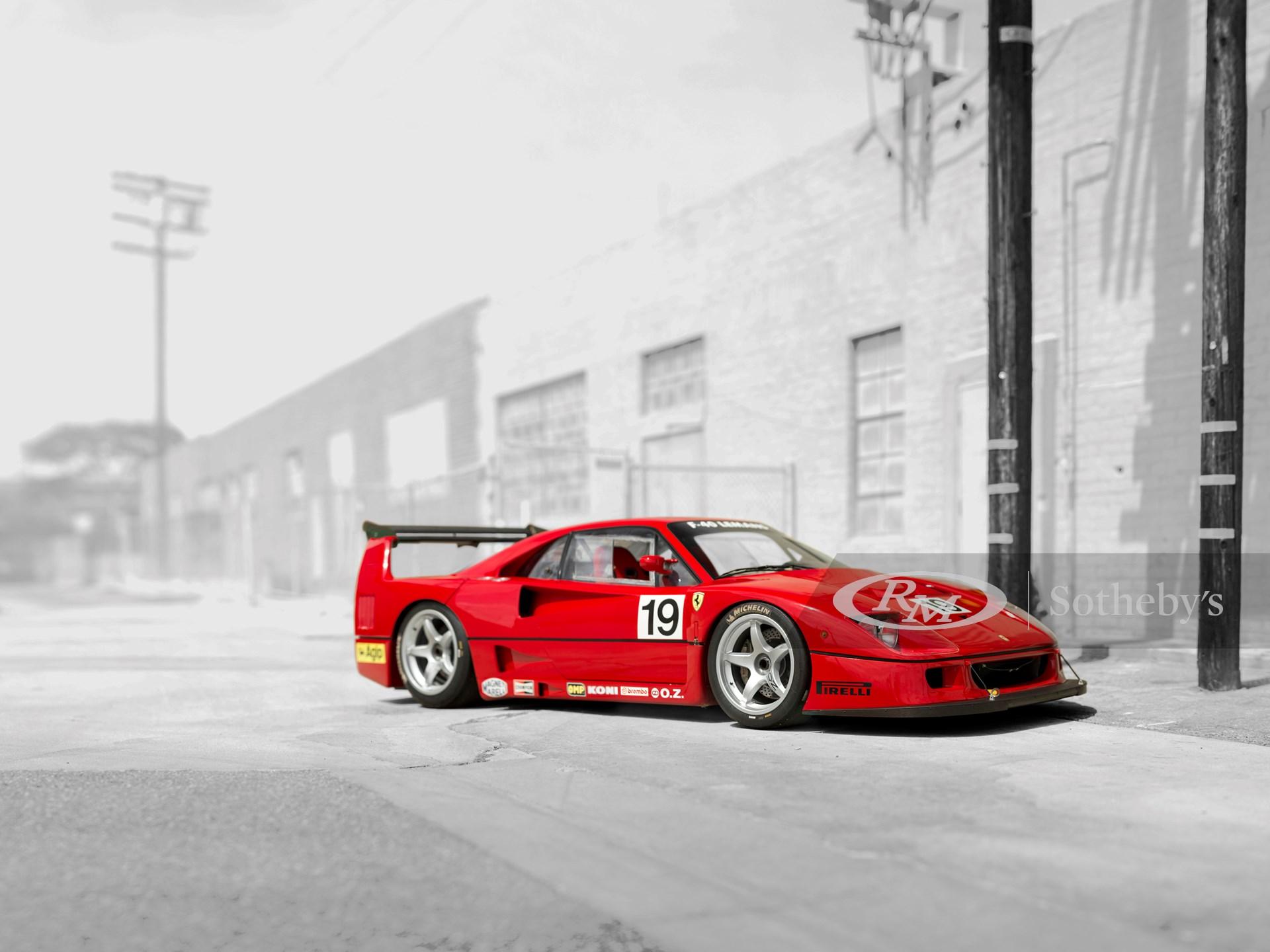 1994 Ferrari F40 Lm Monterey 2015 Rm Sotheby S