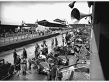 1935 Aston Martin Ulster Competition Sports  - $1935 Le Mans – our car is #33 at the bottom of the shot.