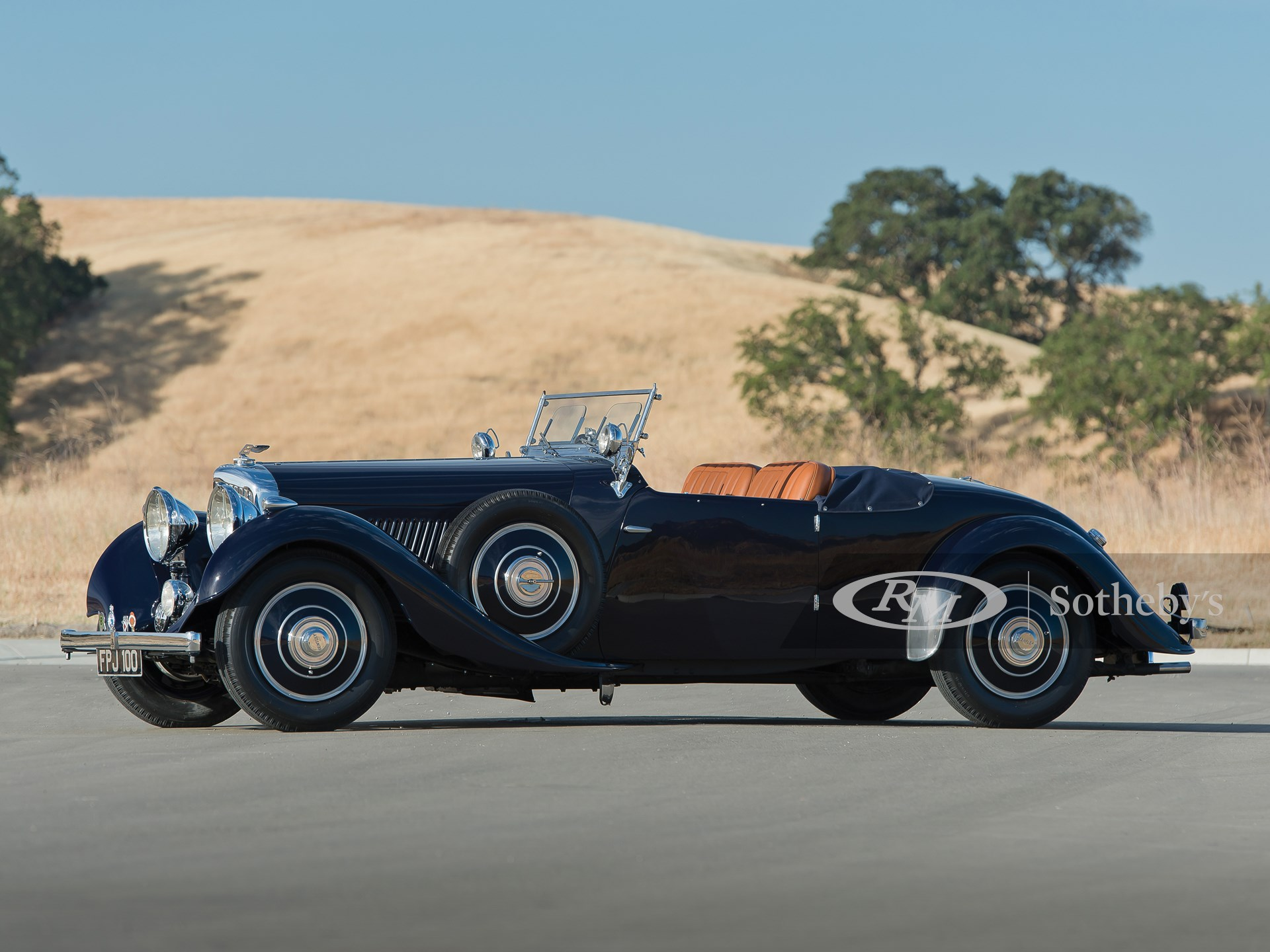 1937 Bentley 4¼-Litre Open Two-Seater by Carlton