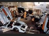 1970 Porsche 917 K  - $The trio of Gulf-Porsche 917s are dutifully prepared for competition at Le Mans, 1970.