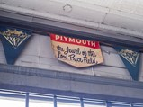 Two Plymouth Banners - $