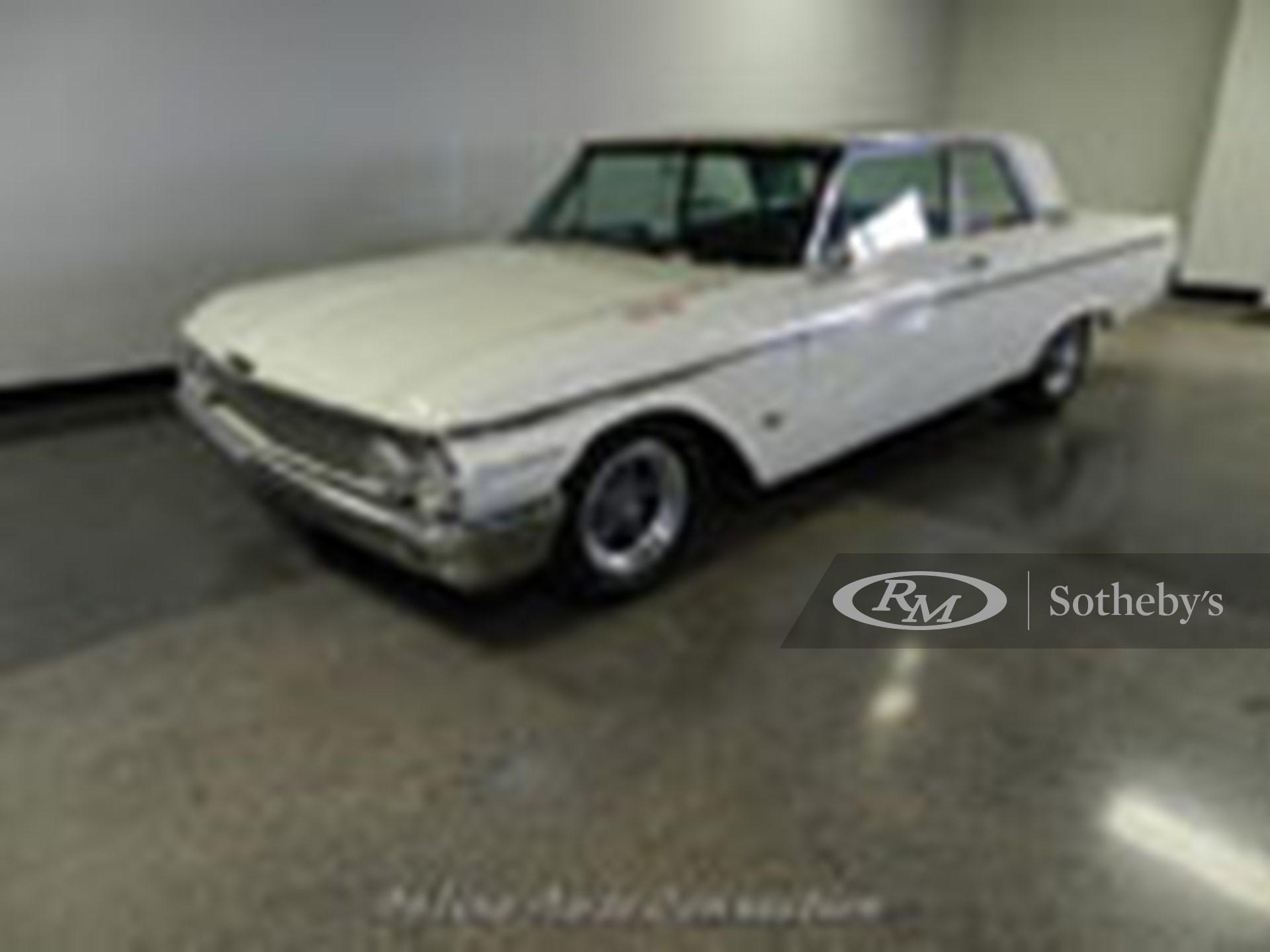 1962 Ford Galaxie G-Code 406