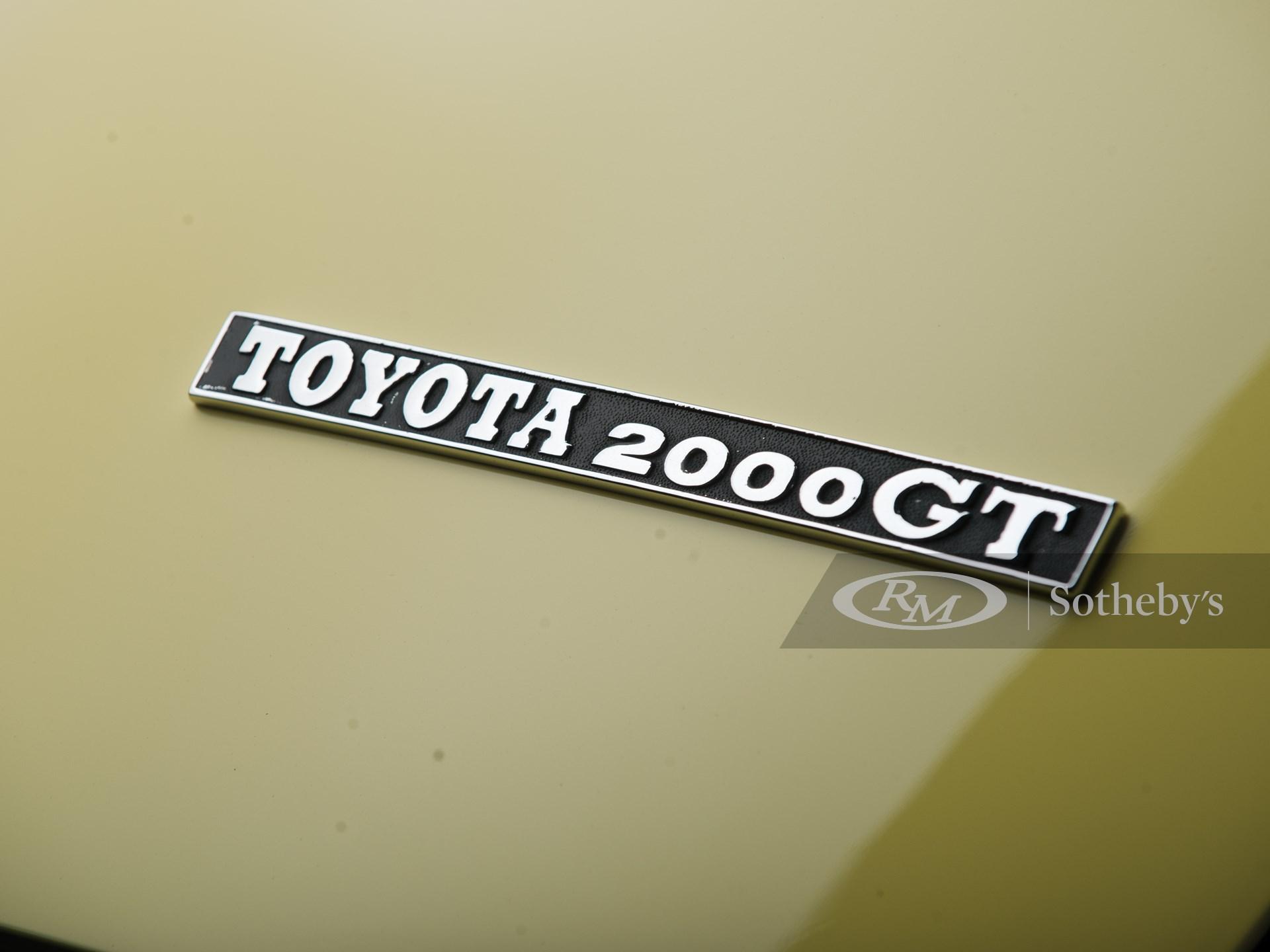 1967 Toyota 2000GT  -