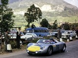 1960 Porsche 718 RS 60 Werks  - $Graham Hill behind the wheel of 718-004 at the 1961 Targa Florio.