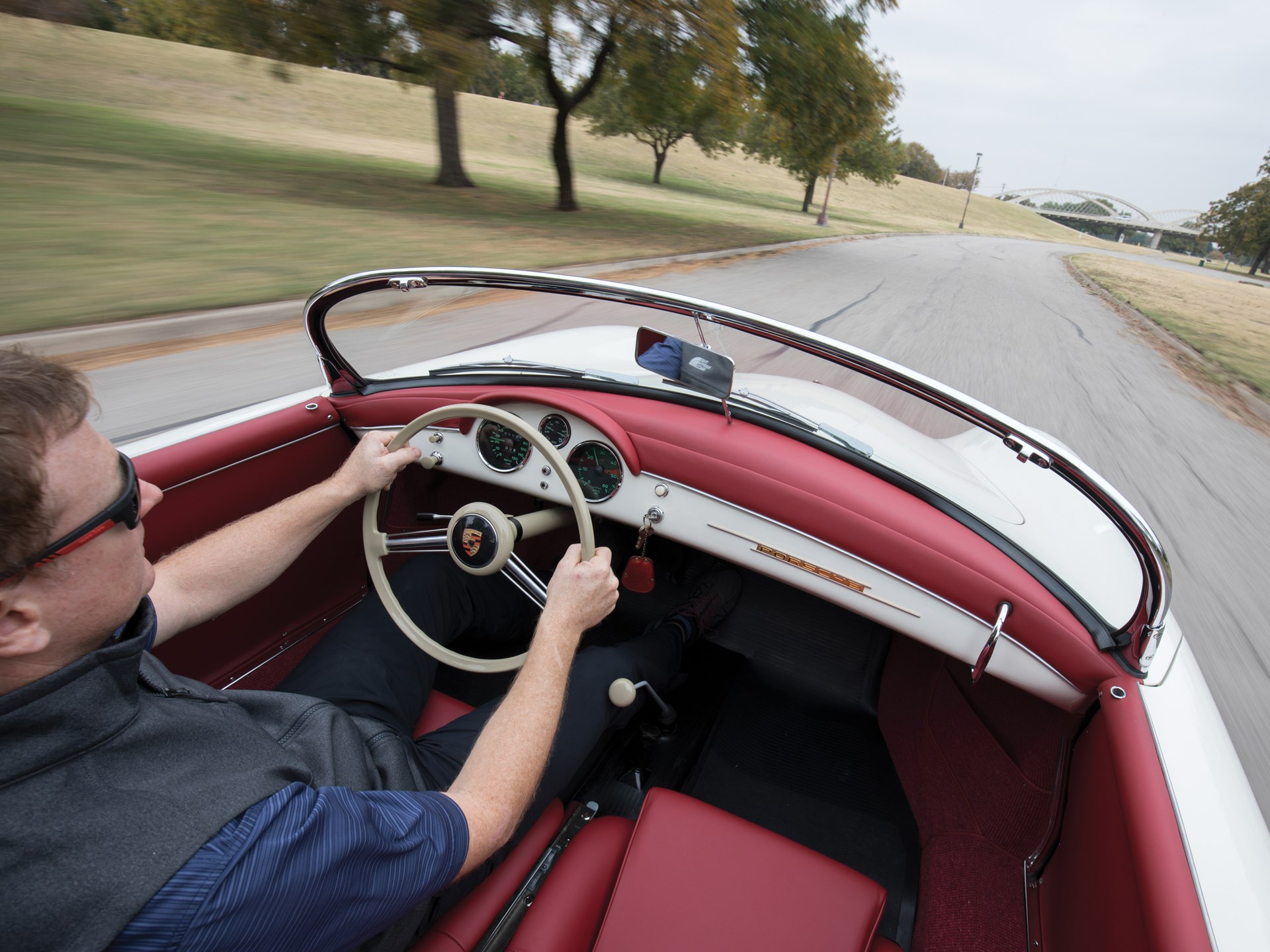 1955 Porsche 356 1500 Speedster by Reutter