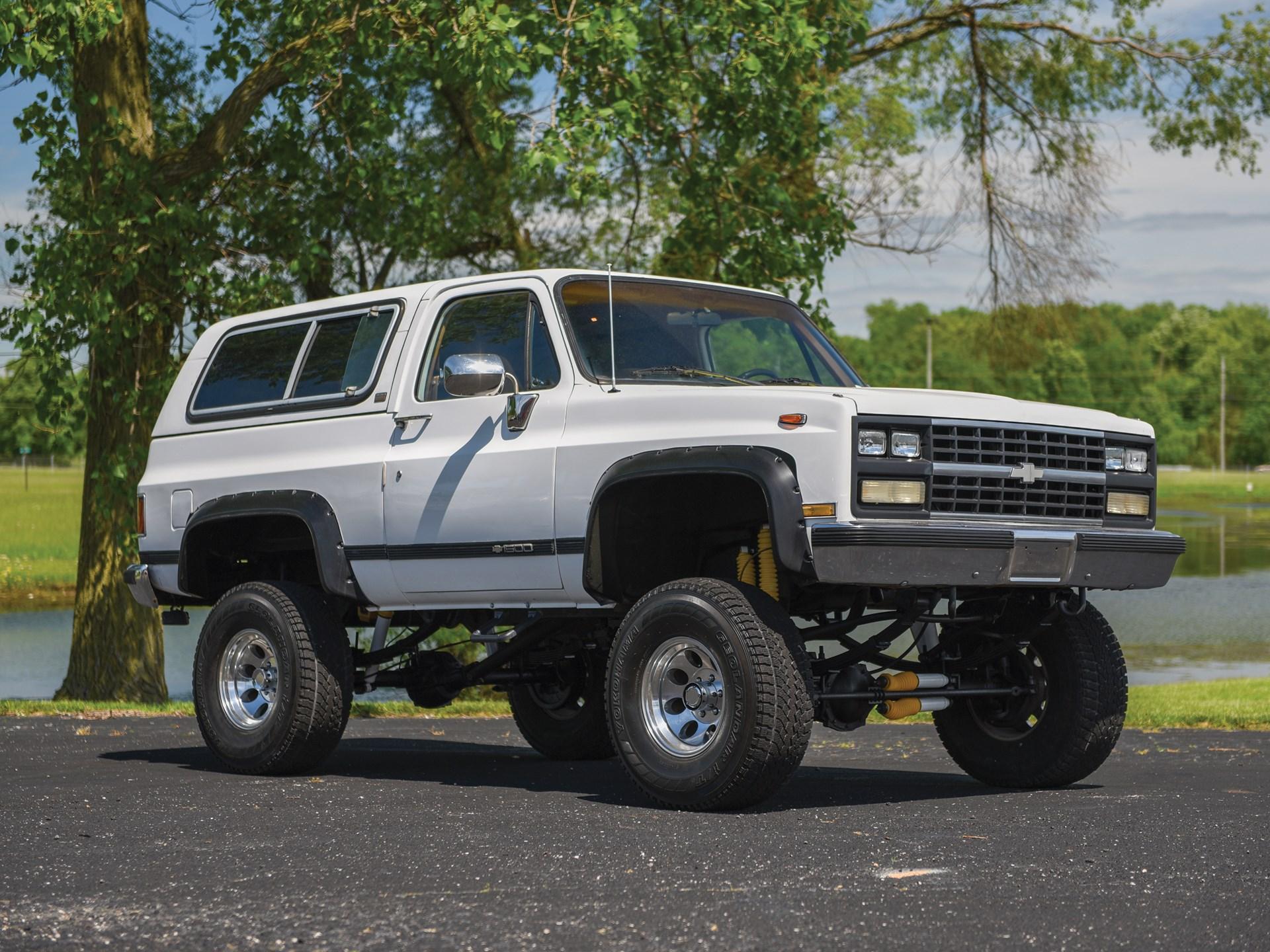 RM Sotheby's - 1990 Chevrolet K5 Blazer   Auburn Spring 2019
