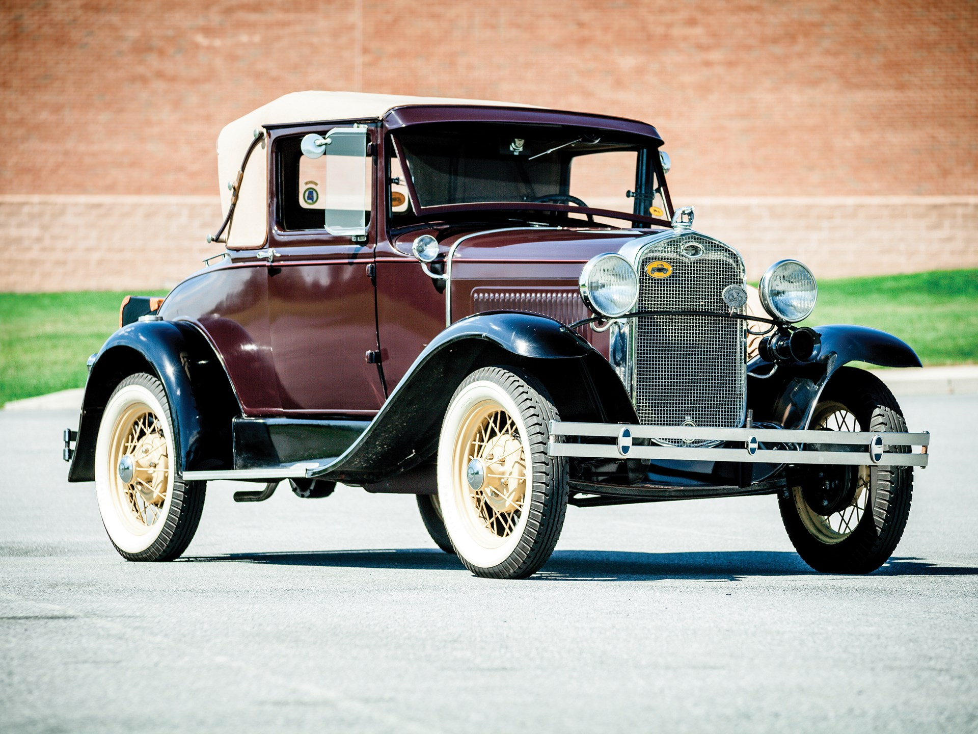 rm sotheby 39 s 1931 ford model a sport coupe hershey 2015. Black Bedroom Furniture Sets. Home Design Ideas