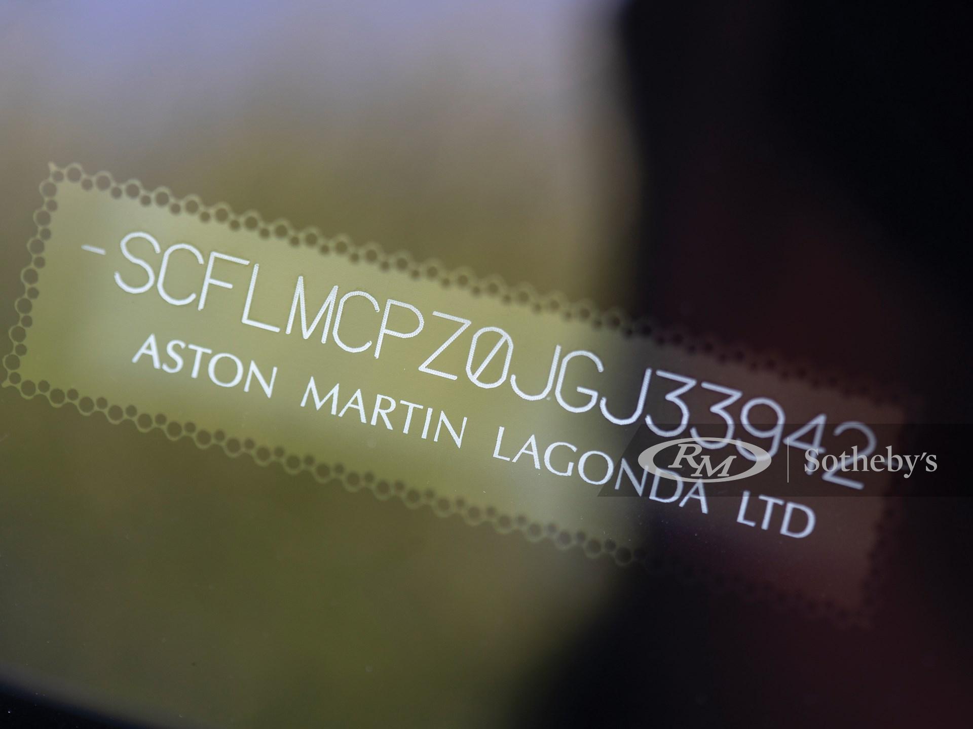 2018 Aston Martin Vanquish Zagato -