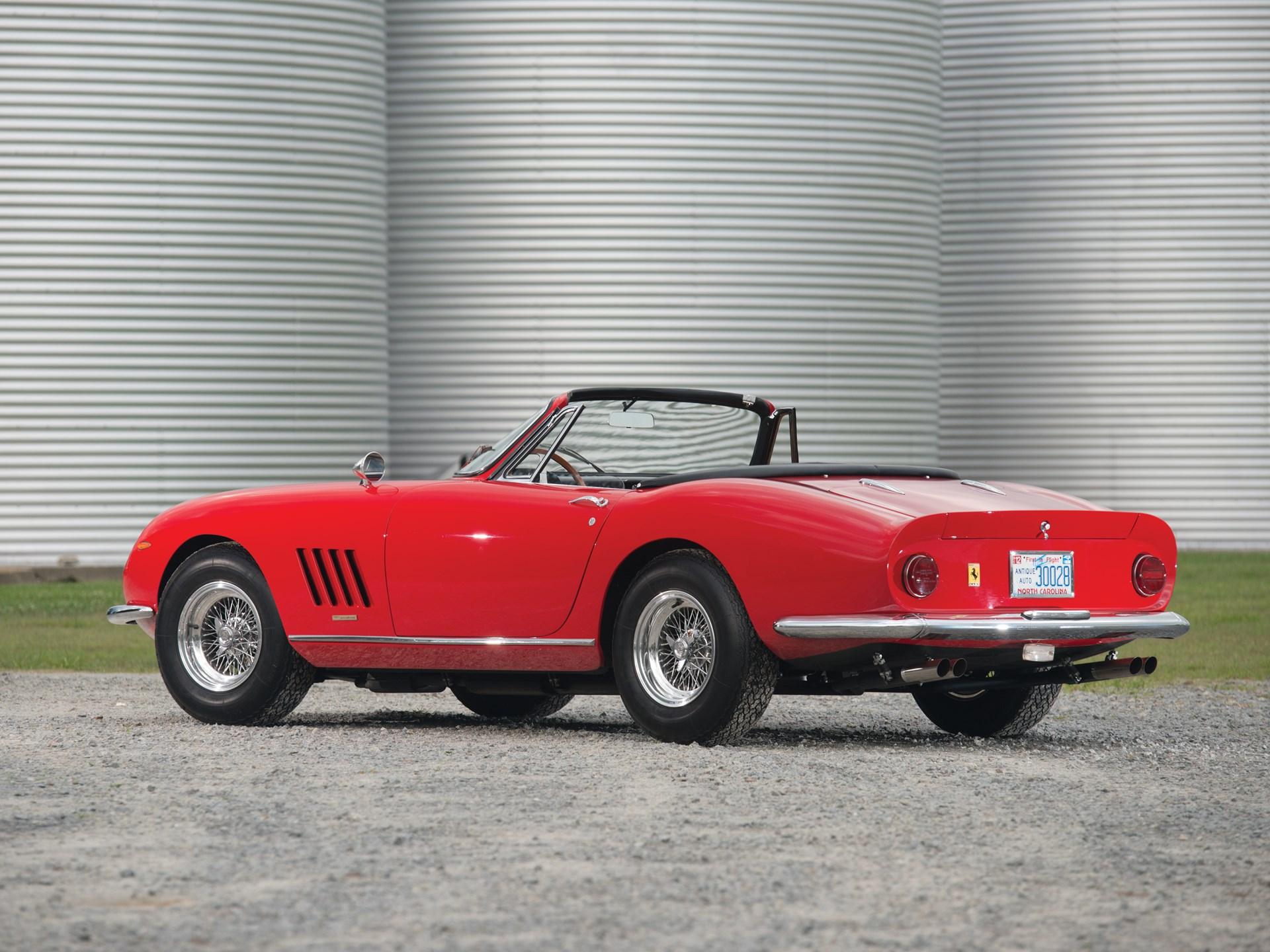 RM Sotheby's - 1967 Ferrari 275 GTB/4*S N.A.R.T. Spider by ...