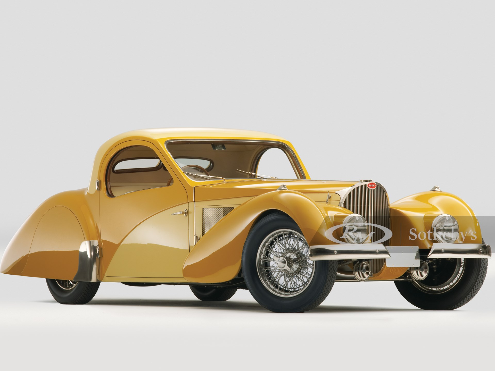 1937 Bugatti Type 57SC Atalante Coupé