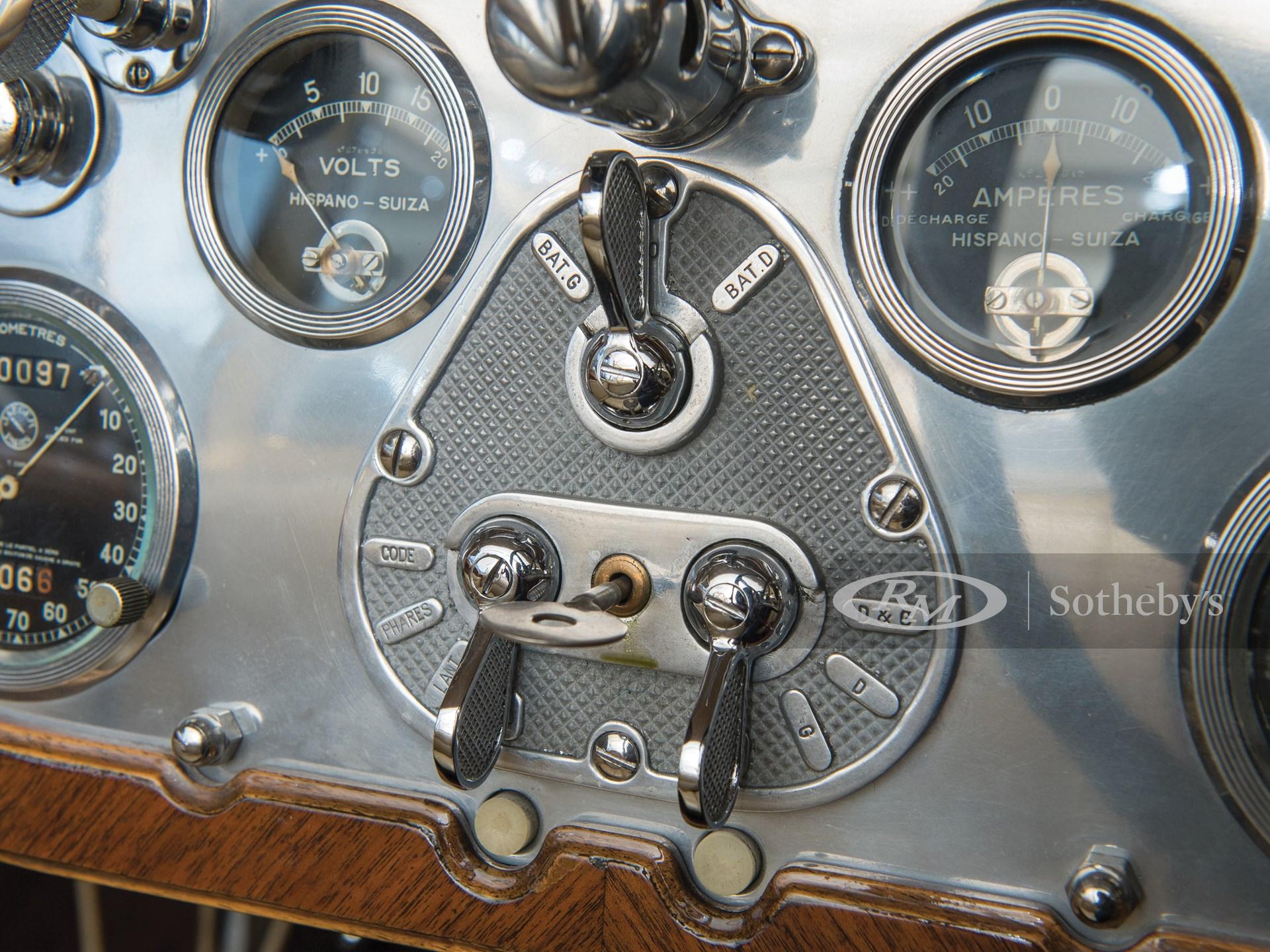 1928 Hispano-Suiza H6C Transformable Torpedo by Hibbard & Darrin