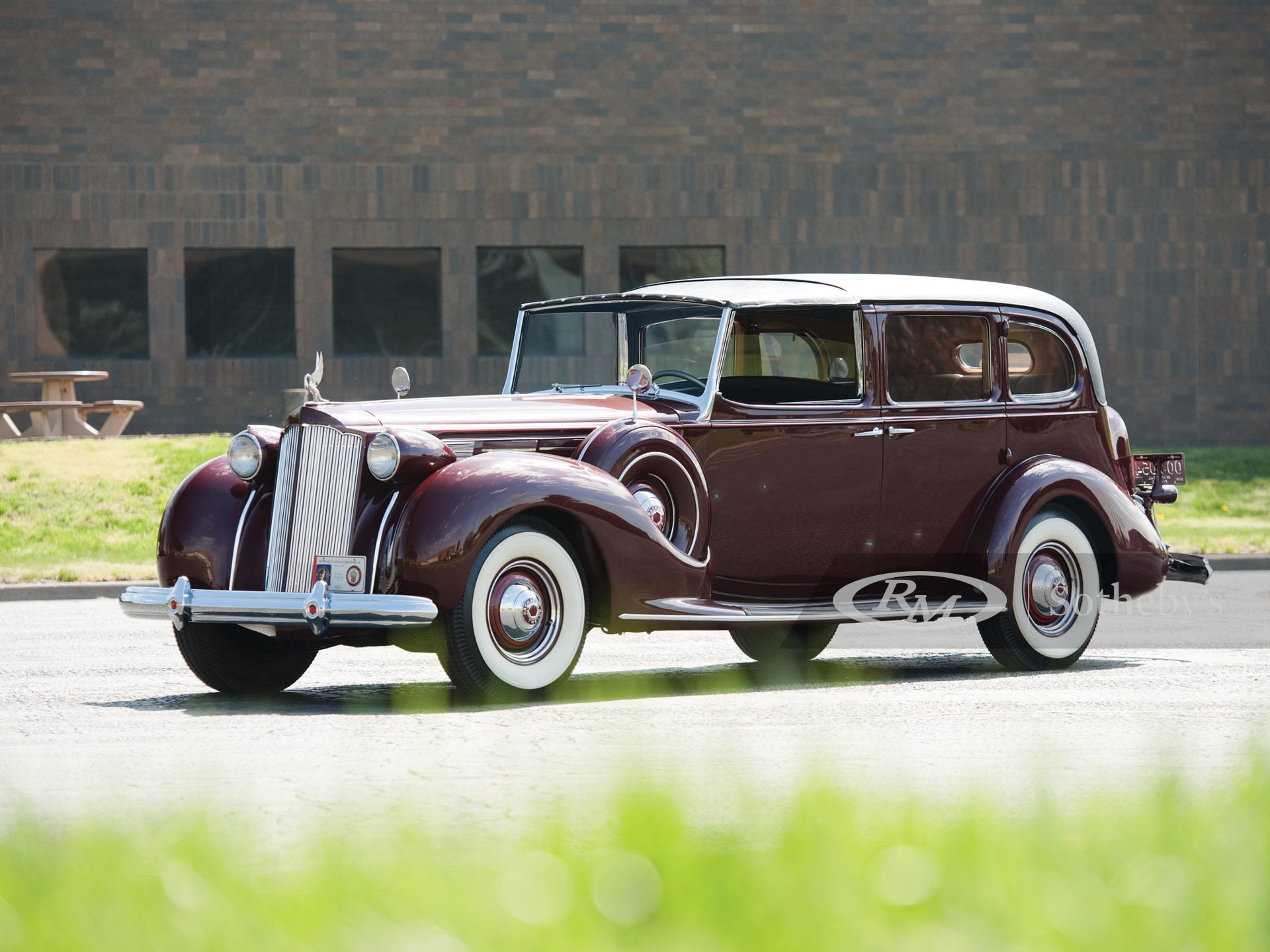 1938 Packard Twelve All-Weather Town Car by Rollston