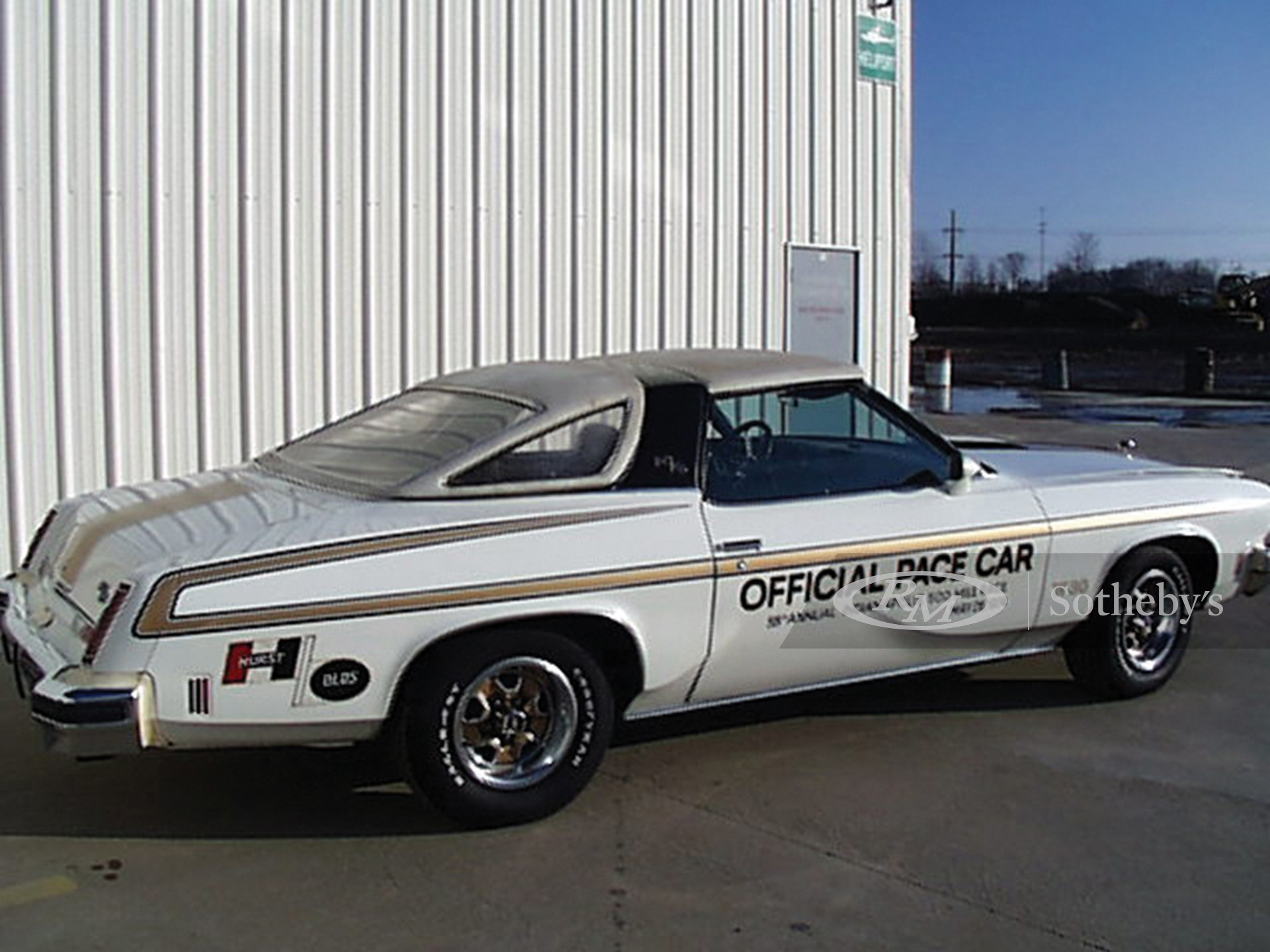 1974 Oldsmobile Cutlass Indy 500 Pace Car Convertible  -