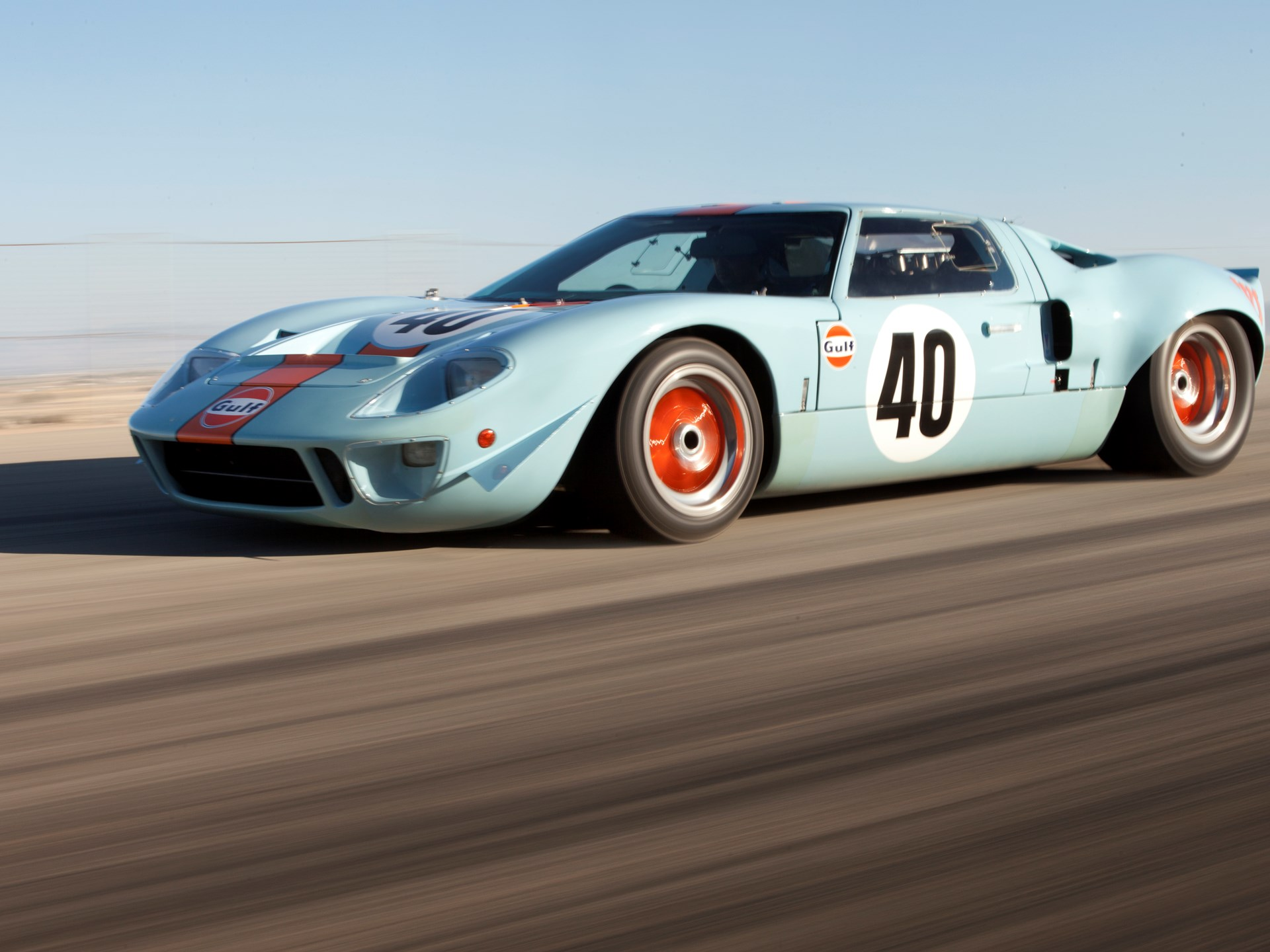 Ford Gt Gulf Mirage Lightweight Racing Car